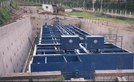 Package Extended Aeration Treatment Plant
